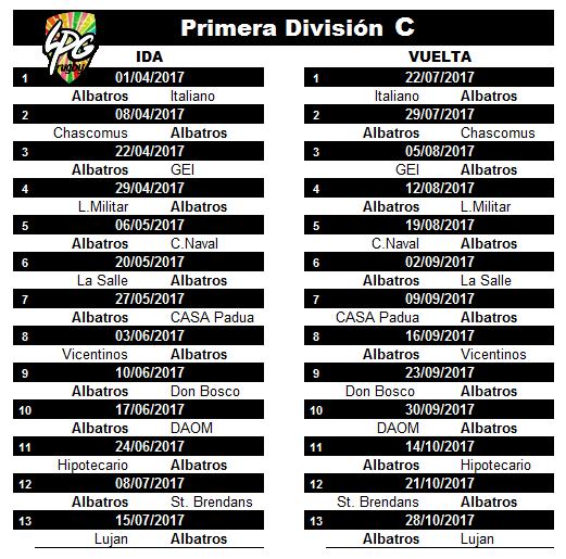 fixture-1-div-c-2017